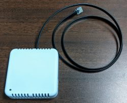 The Temperature / Humidity Sensor with Cable