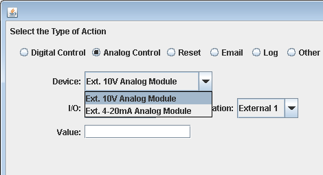 Expansion Module actions for Task Manager